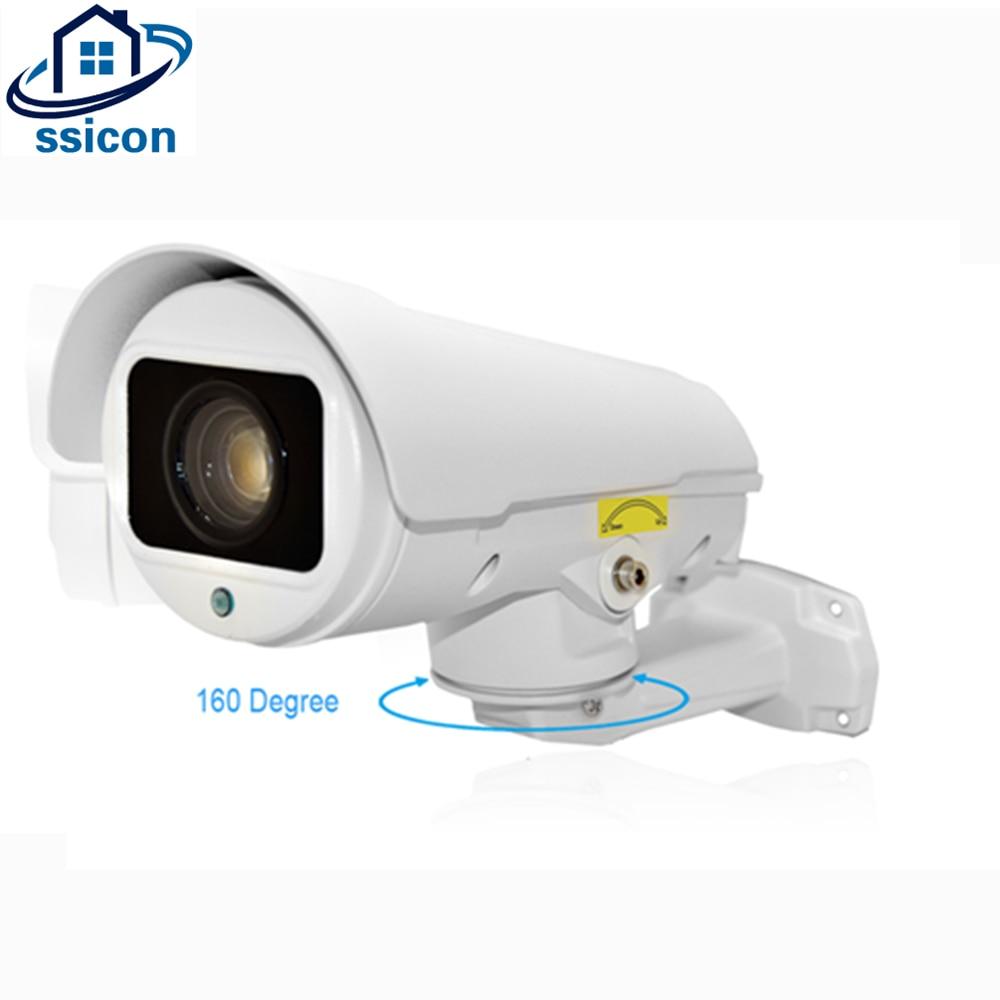 SSICON 2MP Bullet PTZ Caméra IP 10X Zoom 1080 P 160 degrés Pan IP66 Étanche Nuit Vision Extérieure PTZ IP Caméra Onvif