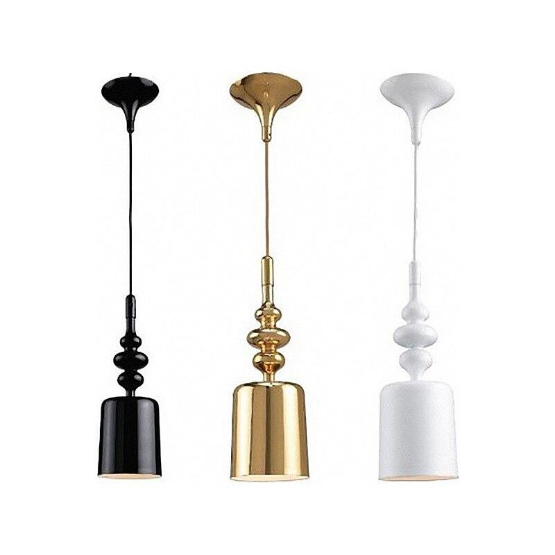 Işıklar ve Aydınlatma'ten Kolye ışıkları'de Iskandinav basit Masiero Eva lamba İtalya Milan kazanan tasarım Defender kordon kolye lamba demir yemek odası kolye lambaları modern