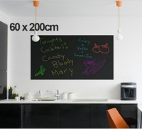 60x200cm DIY Chalk Board Blackboard Stickers Removable Vinyl Draw Decor Mural Decals Art Chalkboard Wall Sticker