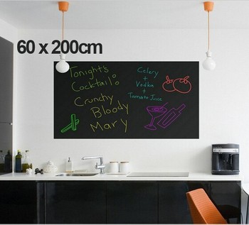 Chalk Board Blackboard 60x200cm