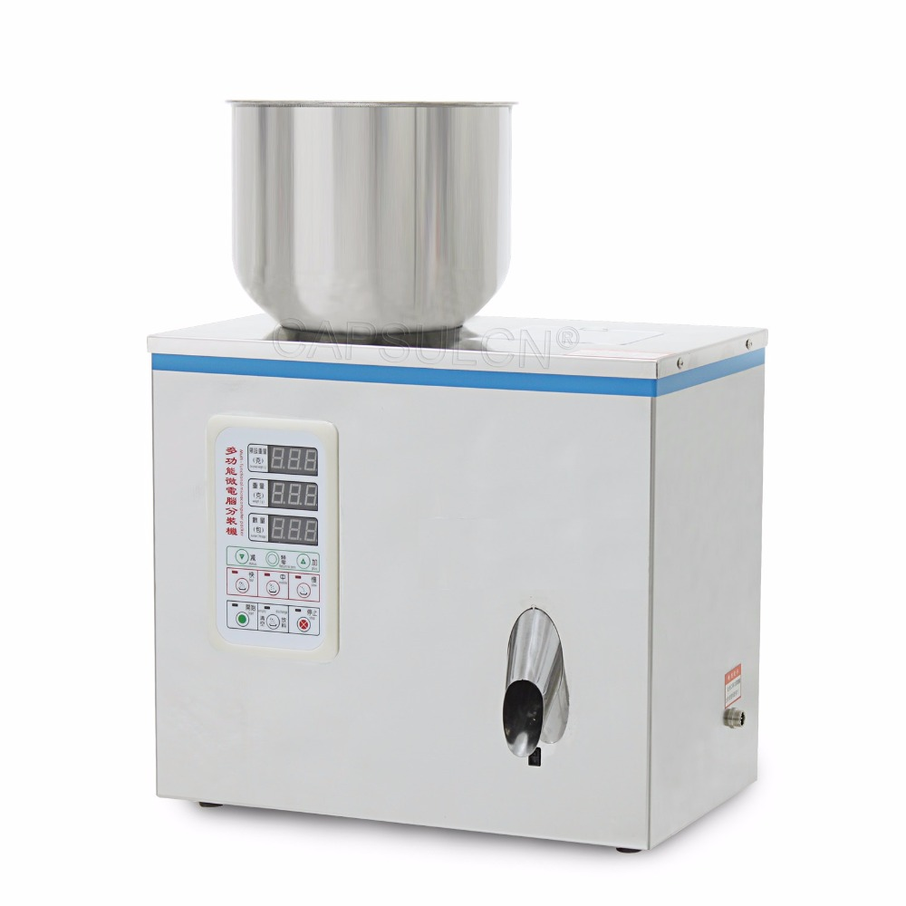все цены на  1-50g Particle Subpackage Device Filling Machine For Dispensing Granule and Powder FZZ-1  онлайн