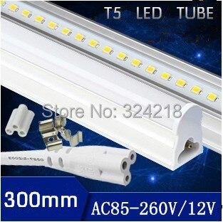 Free shiping 1pcs/lot T5 led tube 5w solar tube 450lm led solar shed light 1ft light bul ...