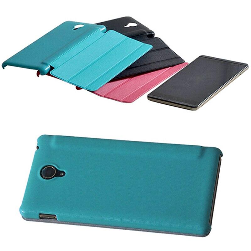 Новые 3 складной Роскошный ультра тонкий Slim Folio Stand кожаный чехол защитный рукав чехол для hp Сланец 6 VoiceTab Case 6 телефон планшет