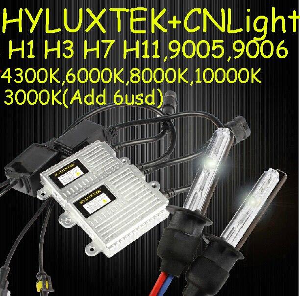 HYLUXTEK HID KIT,K9008,XENON kit,35W 12V,hid xenon kit,Free ship!2pcsK9008+2pcs CNBulb,H1 H3 H7 880 881 9005 9006,H11,4300~8000K
