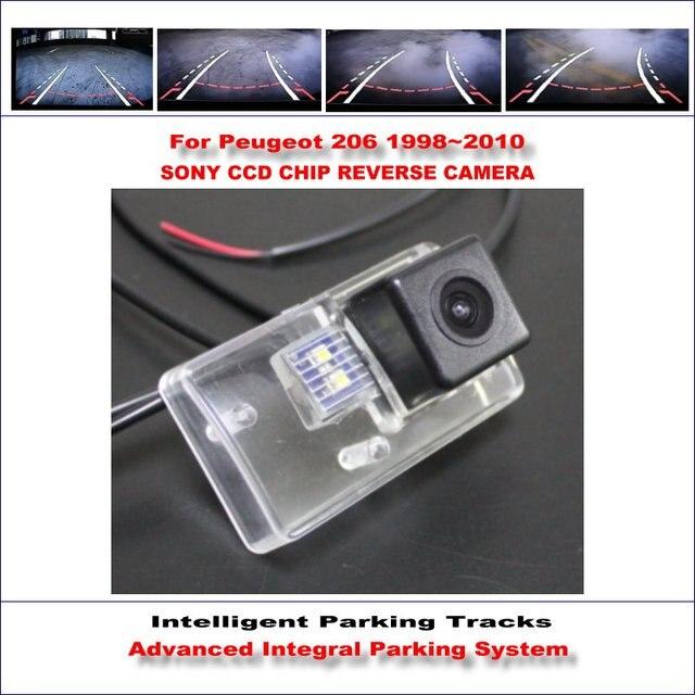 Hd sony car rear camera for peugeot 206 207 sedan intelligent hd sony car rear camera for peugeot 206 207 sedan intelligent parking tracks reverse asfbconference2016 Images