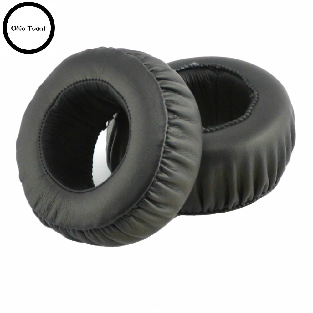 SONY MDR-XB500 XB500 XB 500 Headphones Replacement Ear Pad Ear Cushion Ear Cups Ear Cover Earpads Repair Parts (Black)