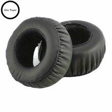 SONY MDR XB500 XB500 XB 500 słuchawki wymienne poduszeczki do słuchawek poduszki nauszne nauszniki osłona uszu naprawa gąbek słuchawek części (czarny)
