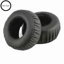 SONY auriculares MDR XB500 XB500 XB 500, almohadilla para oreja de repuesto, cojín para las orejas, cubierta para las orejas, reparación de almohadillas, piezas (negro)