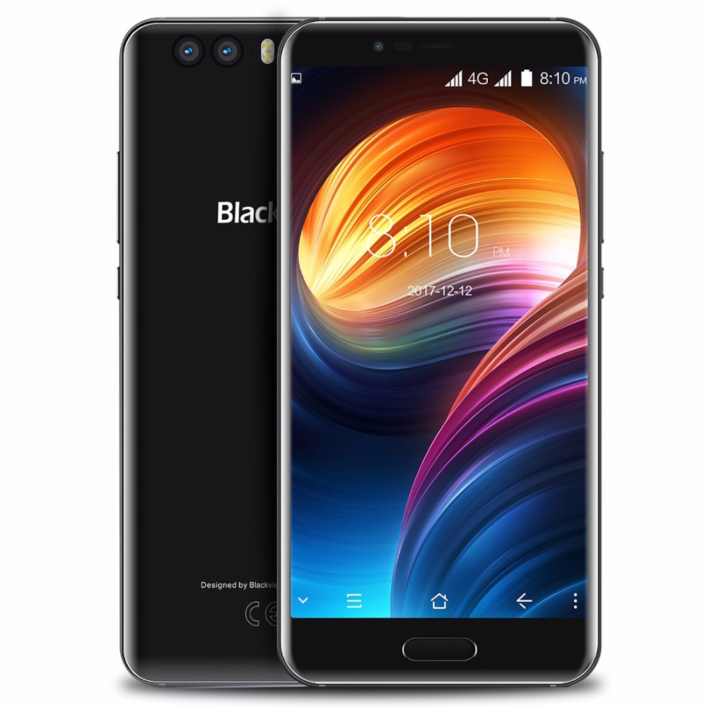 """Blackview P6000 Smartphone 5.5"""" 16:9 FHD Face ID Helio P25 Octe Core 6180mAh 6GB 64GB 21MP Dual Cams Android 7.1 4G Mobile phone"""