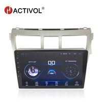 HACTIVOL 9 1024*600 Quadcore android 8.1 car radio for Toyota Vios 2009 2010 2011 2012 2013 car DVD player gps navi wifi BT