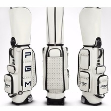 CRESTGOLF Golf Standard Bag PU Waterproof Golf Bags Multifunction Golf Packages Large Capacity Golf Bags