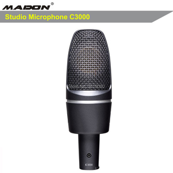 Free shipping , C3000 HIGH-PERFORMANCE LARGE-DIAPHRAGM CONDENSER MICROPHONE