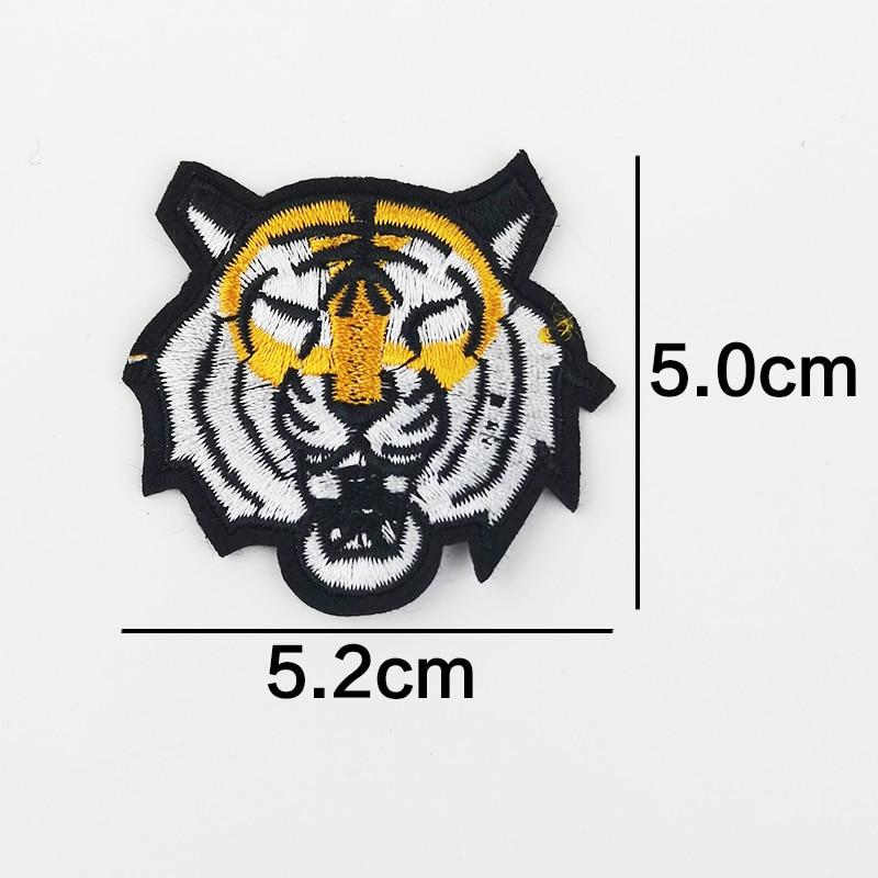 Cool patches Color hat Misfits Skull Jesus Tiger Badge