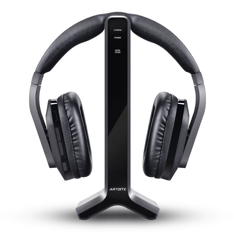 Artiste D1 Wireless 2 4G 30M Distance HIFI Noise Cancelling TV Headphone DVD TV Video Gaming