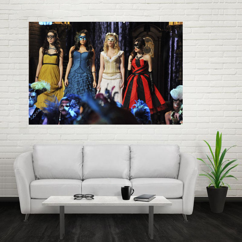 Nice Pretty Little Liars Poster Custom Canvas Poster Art Home ...