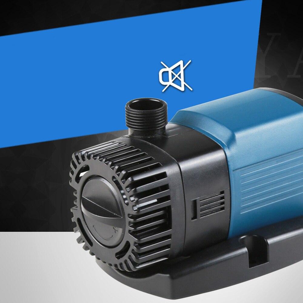 Pompe à eau d'aquarium réglable SUNSUN 2000-3000L/h pompe de Circulation d'étang hydroponique pompe à eau Submersible