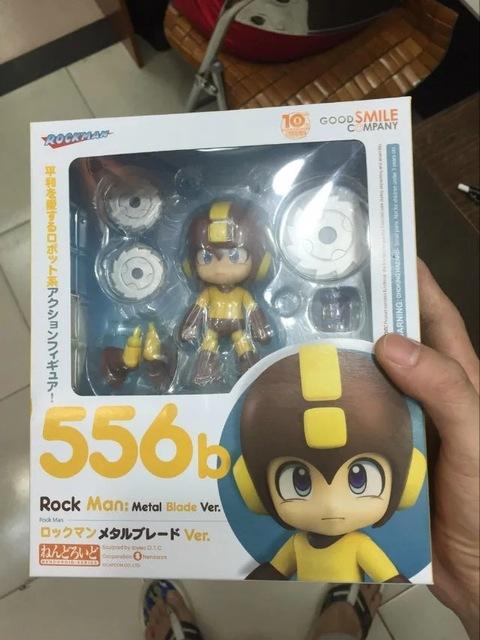 Nendoroid 556b Rock Man Metal Blade