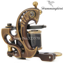 Top Pro Cast Brass Frames Handmade 10 Wrap Coils Liner Tattoo Machine For Tattoo Supply — FTM-2236L