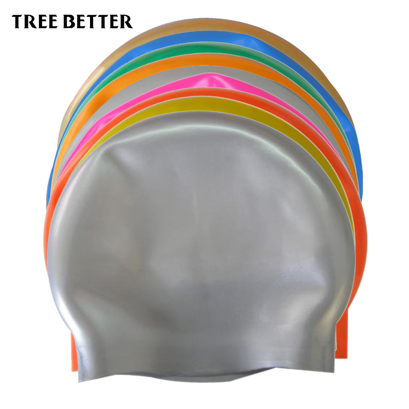 Silicone Rubber Swimming Cap Waterproof Swim Caps Elasticity Hat Swimming Competition Accessorie student Adult Men Women 9 color cntang summer embroidery letter w baseball cap fashion cotton snapback for men women trucker hat unisex casual caps gorras