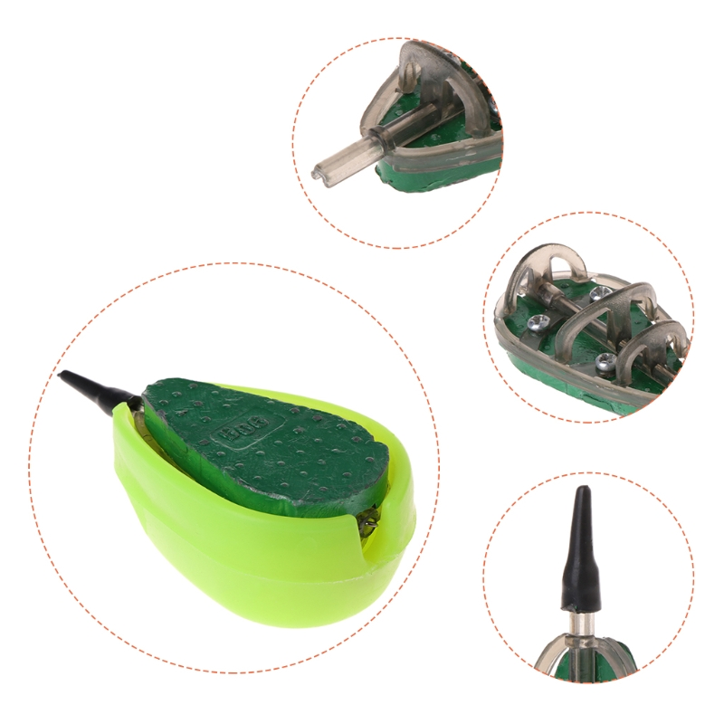 Fishing Feeder With Mould Carp Lead Sinker Method Bait Lure 30g-100g AccessoriesFishing Feeder With Mould Carp Lead Sinker Method Bait Lure 30g-100g Accessories