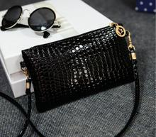 Neue handtasche sommer paket 2016 modelle frauen helle haut krokodil muster schultertasche Umhängetasche