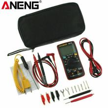 AN8008 AN8009 Transitor Tester True RMS Digital Multimeter 9999 count Backlight Ammeter Voltage Ohm Current Square voltmeter
