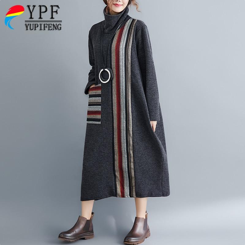 Moda otono invierno 2019 mujer vestidos