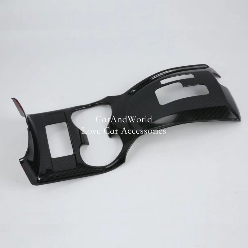 For Nissan X-Trail T32 2014 to 2018 Overall Gear Box Water Cup Holder Cover Frame Trim X Trail Interior Car-styling Accessories