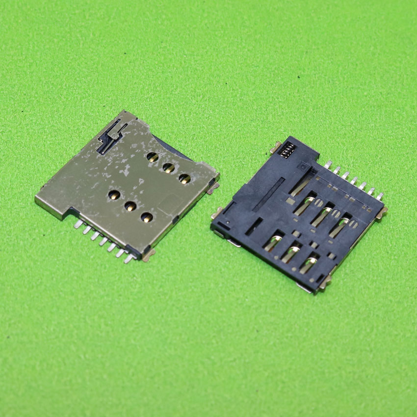 ChengHaoRan 7pin Push Micro Sim Card Socket Holder Slot Replacement Connector,KA-285