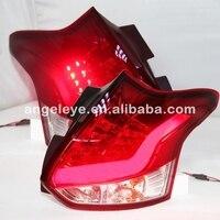 Для Focus Hatchback светодиодные задние свет для Ford хвост Лампы для мотоциклов красный, Белый 2012 2014 год JY