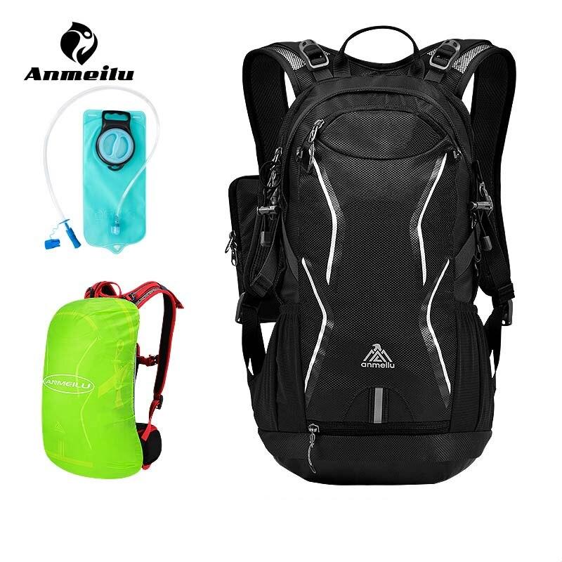 ANMEILU 4 couleurs imperméable à l'eau en plein air vélo sac à dos sacs de vélo hommes femmes vélo sac d'eau en Nylon randonnée Camping sac d'hydratation
