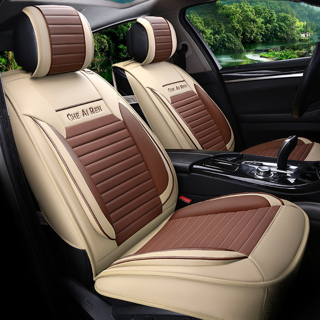 Car Styling Leather Seat Covers For Honda City Accord Crider Vezel