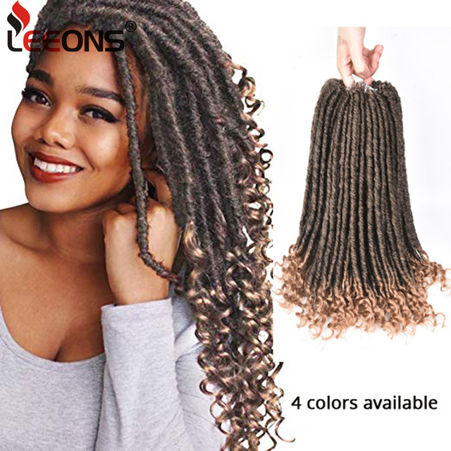 Leeons Factory Supply 16 Inch Goddess Faux Locs Hair Popular