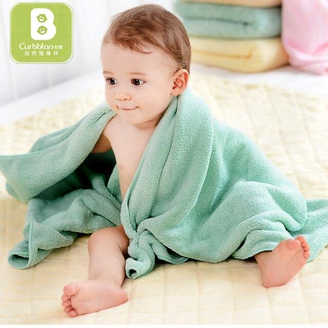 Curbblan Baby Bath Towel Children Newborn Bath Towels Muslin Washcloth  Microfiber Very Soft Skincare Towels 70 3aa876145
