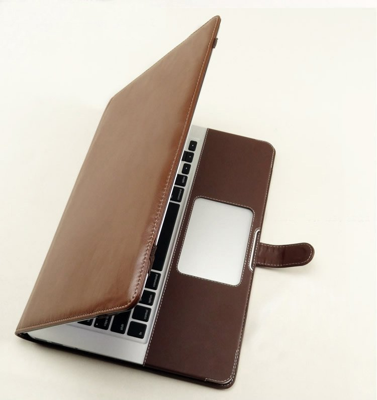 the best attitude 91029 c23d4 US $16.85 |PU Leather sleeve case Cover for macbook old pro 13 inch with cd  rom and withtout retina display models, A1278, Free Drop Ship-in Laptop ...