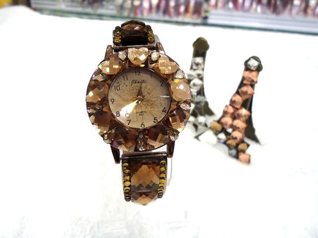 Free shipping luxury brand crystal woman wristwatch fashional rhinestone watches for girl