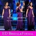 Demi Lovato vestido púrpura at Latin Grammy Awards celebridad de la gasa vestido de noche Cap manga vestido de fiesta vestidos de noche