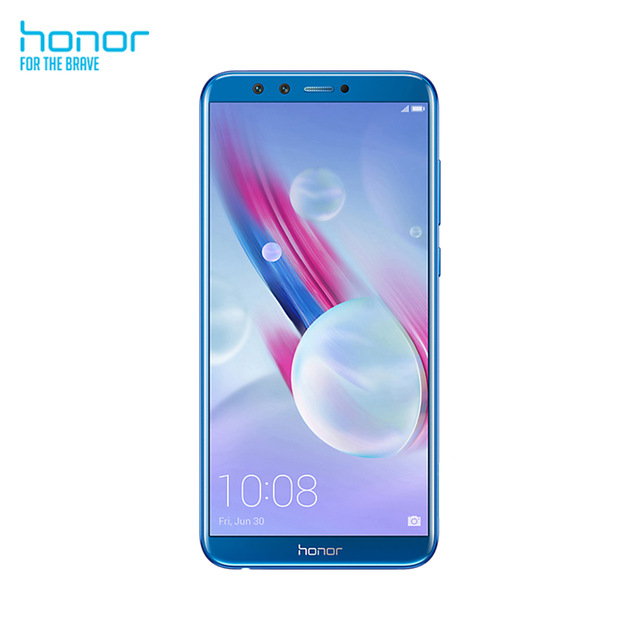 Huawei Honor 9 Lite 3 GB RAM 32 GB ROM Hi-Silicon 5.65 ''13 MP double police caméra arrière smartphone Android 8.0 téléphone mobile bleu