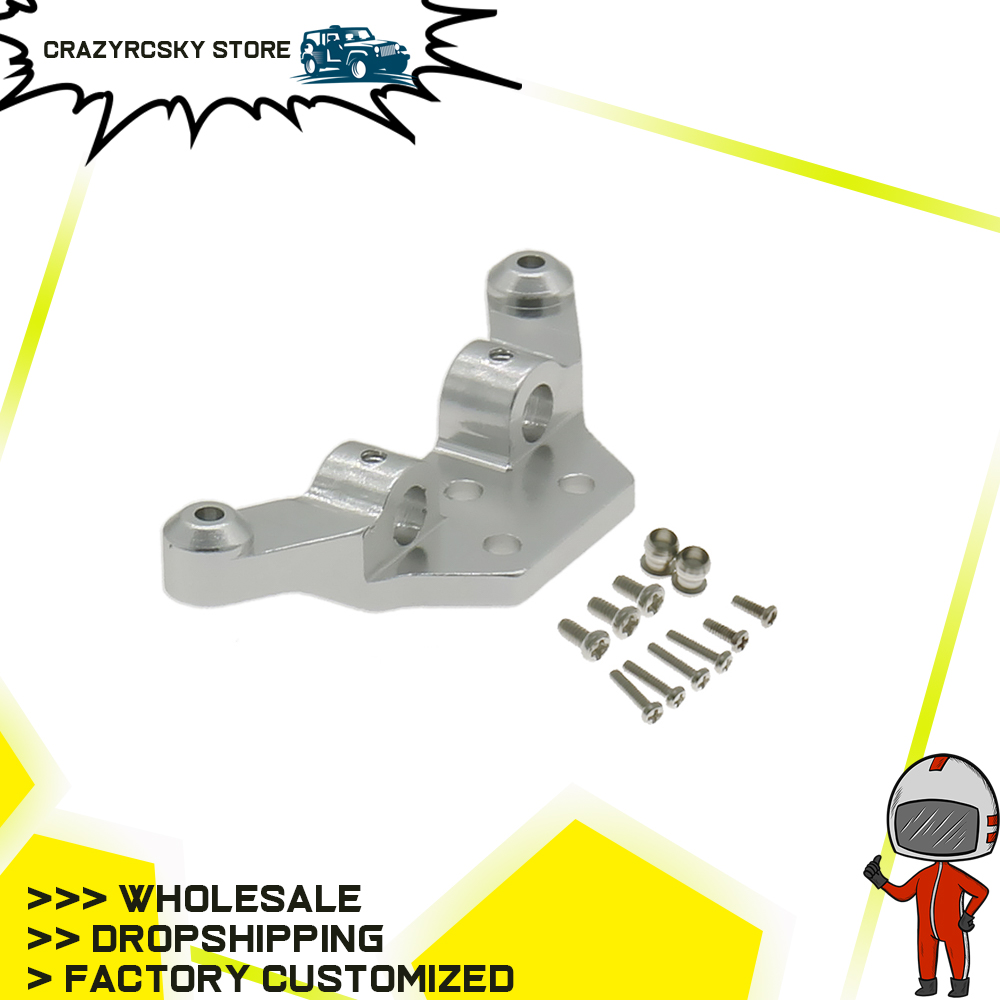 RCAWD Alloy Front&Rear Shock Tower For Rc Hobby Model Car 1/28 Wltoys K969 K989 P929 Drift Rally Bigfoot