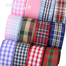5 yards lot 25mm Scotish Ribbon Wholesale Lovely gift packing Christmas Ribbons