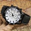 3 Tipo Moderno Display 3D Grande Mostrador do Relógio de Pulso de Moda Cinta Banda de Silicone Moda Analógico Militar Simples das Mulheres Dos Homens de Quartzo relógio