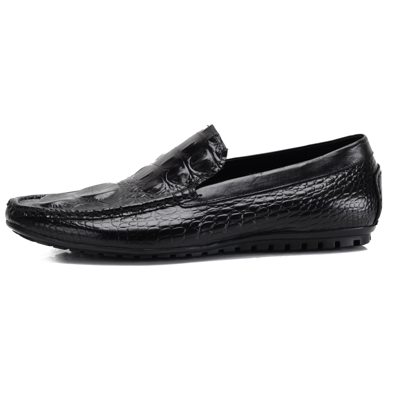 ФОТО 2017 New Products Men's British Style Embossed Leather Pointed Toe Lace Up Moccasins Driving Casual Solid Loafers Sapatos Shoes