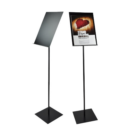 A3 Metal Floor Poster Display Stand Banner Stand Sign Stand Display (without printing)