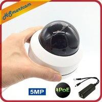 POE 5MP скоростная купольная ptz-камера MINI HD 1080P H.265 4X зум Моторизованный объектив 2MP Pan Tilt IR 30M P2P ONVIF CCTV IP камера безопасности