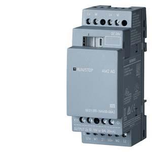 все цены на Original LOGO Expansion Module 6ED1055-1MM00-0BA2, 6ED1 055-1MM00-0BA2 PU: DC 24V, 0/4-20MA 2AQ, PLC Module 6ED10551MM000BA2