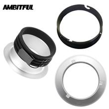 AMBITFUL 135 мм 144 мм 1500 м кольцевой адаптер для объектива для Bowens Elinchrom монтаж Profoto для AMBITFUL AL-06 AL-16