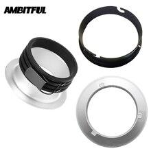 AMBITFUL Adaptador de anillo para Bowens Elinchrom Profoto, 135mm, 144mm, 150mm, montaje para AL 06 AL 16