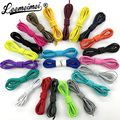 10pairs/lot Colorful Locking Shoe Laces Elastic Shoelaces stretchrings for Running Jogging Triathlon Sports Fitness