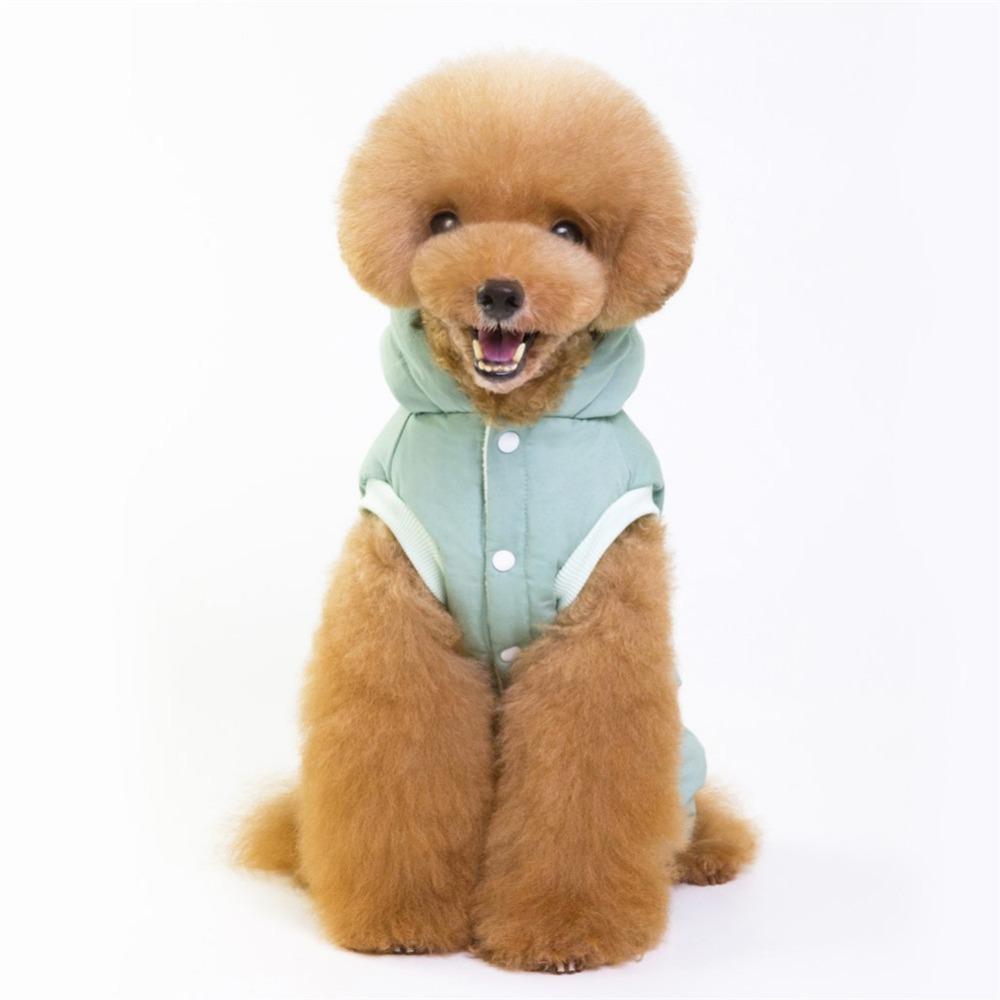 Cálido abrigo para cachorros y perros pequeños 9