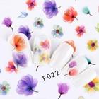 1pcs 3D Sweet Beauty Flower Summer Sticker Nail Art Slider Summer Tips Optional Firebird/Flower Foils Decor Decal Nail TRCA/F